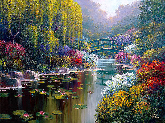 Giverny Pond